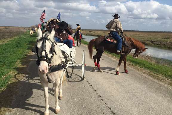 The Northeastern Trail Riders, getting ready to circle the wagons.