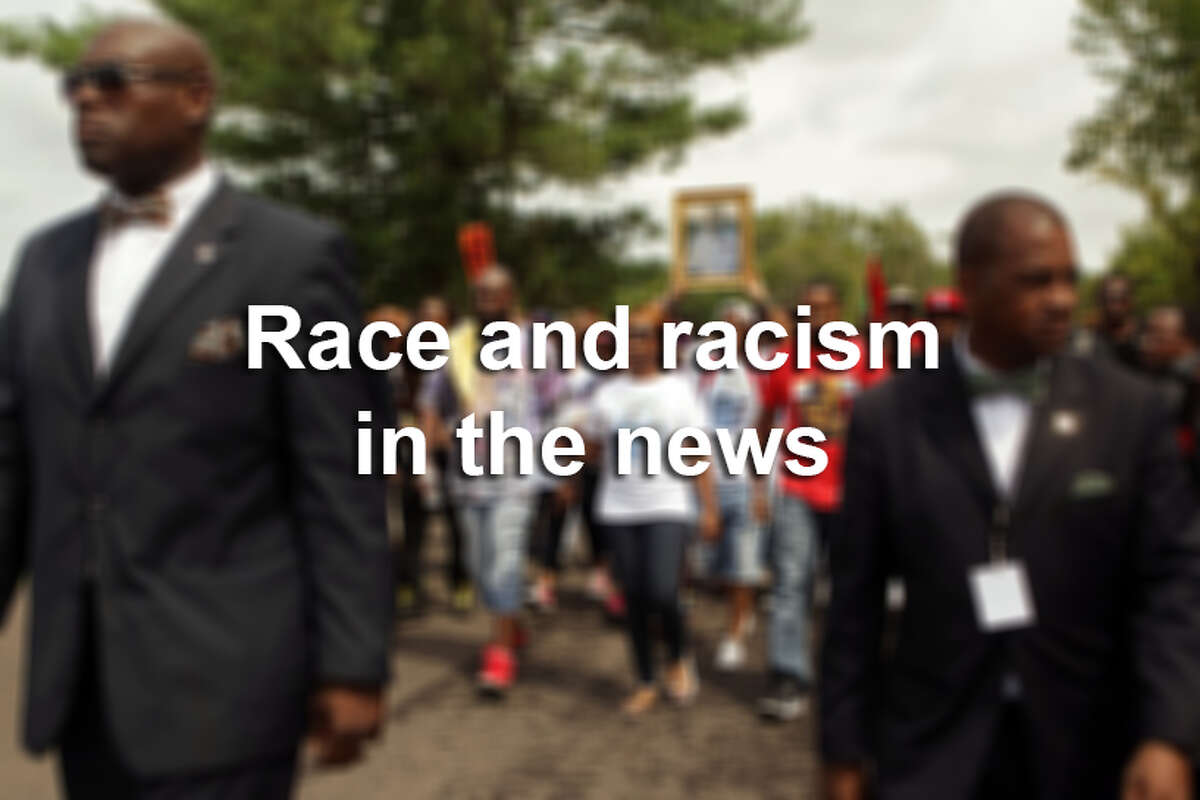 Here's a look at incidents revolving around race and racism that have caught headlines.