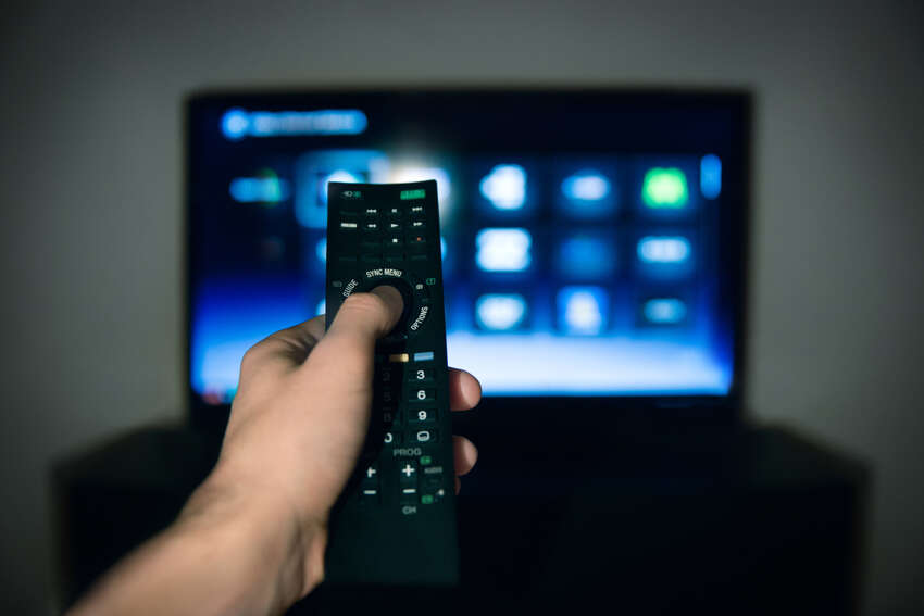 Ninety-five percent of Americans watch TV in their spare time. So your snooty friends who like to brag,