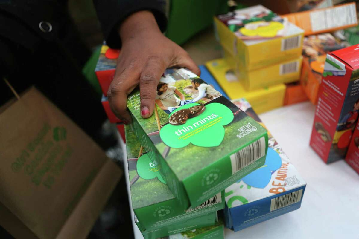 A California man was arrested on suspicion of strong-arm robbery after he allegedly stole $300 from a Girl Scout. Cody Gintz, 23, yanked the cash box from a 10-year-old girl selling cookies in front of a grocery store in San Jose. (February 22, 2015) Source: NBC Bay Area