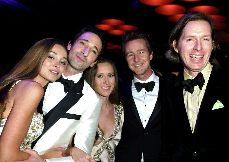 Stars attend the 2015 Vanity Fair Oscar Party hosted by Graydon Carter at the Wallis Annenberg Center for the Performing Arts on February 22, 2015 in Beverly Hills, California.   Photo: Jeff Vespa/VF15, Getty Images / 2015 Jeff Vespa/VF15