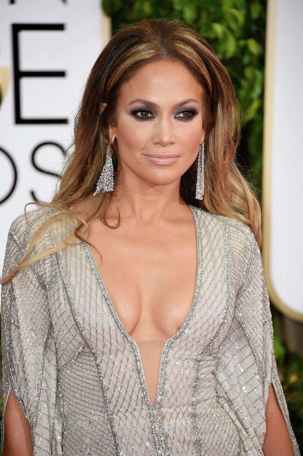 BEVERLY HILLS, CA - JANUARY 11: Actress/singer Jennifer Lopez attends the 72nd Annual Golden Globe Awards at The Beverly Hilton Hotel on January 11, 2015 in Beverly Hills, California.