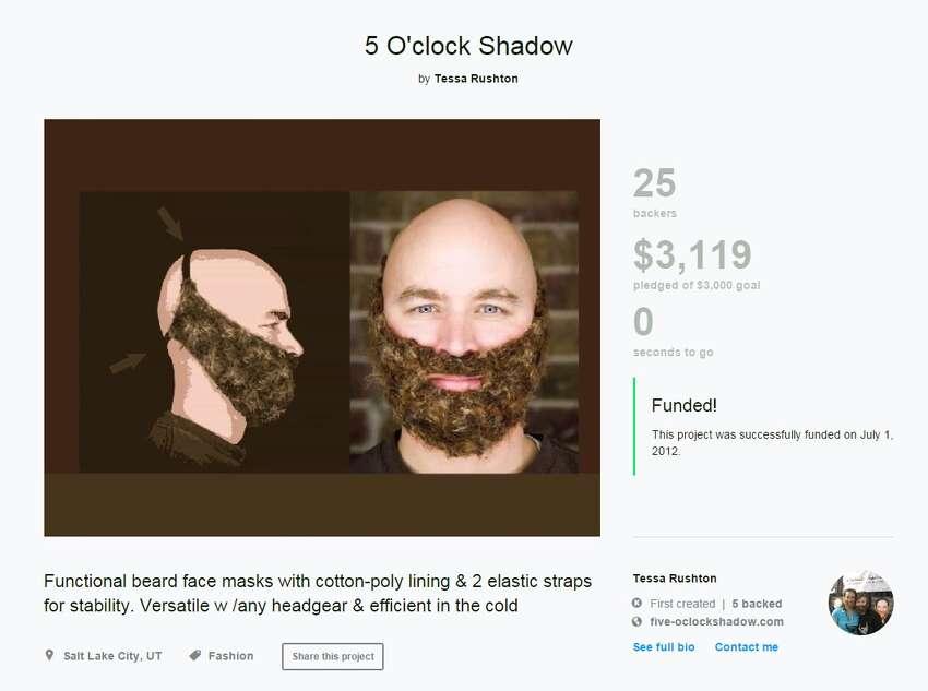 Hand-woven beards Awesome or awful? Kickstarter