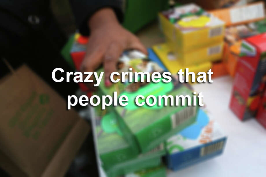 Crazy crimes that people commit Photo: John Moore, Getty Images / 2013 Getty Images