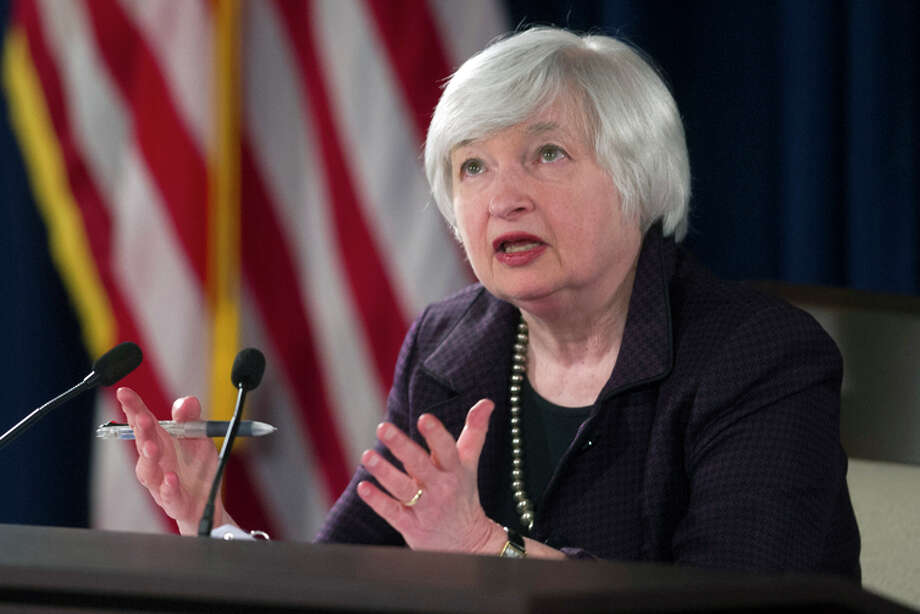 Federal Reserve Chair Janet Yellen is scheduled to give her semiannual report to Congress this week. Photo: Cliff Owen / Associated Press / FR170079 AP