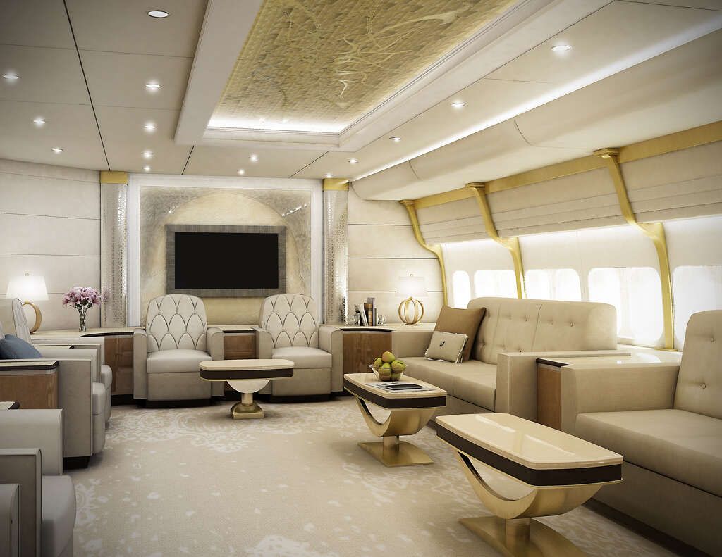 Image result for VIP Boeing 747-8
