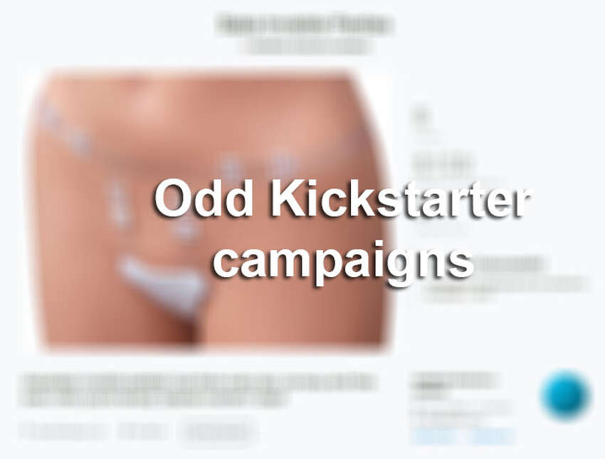 Kickstarter has had some crazy campaigns in the last few years. Click through the slideshow to see some of the weirdest and most interesting campaigns people have raised money for in the past.