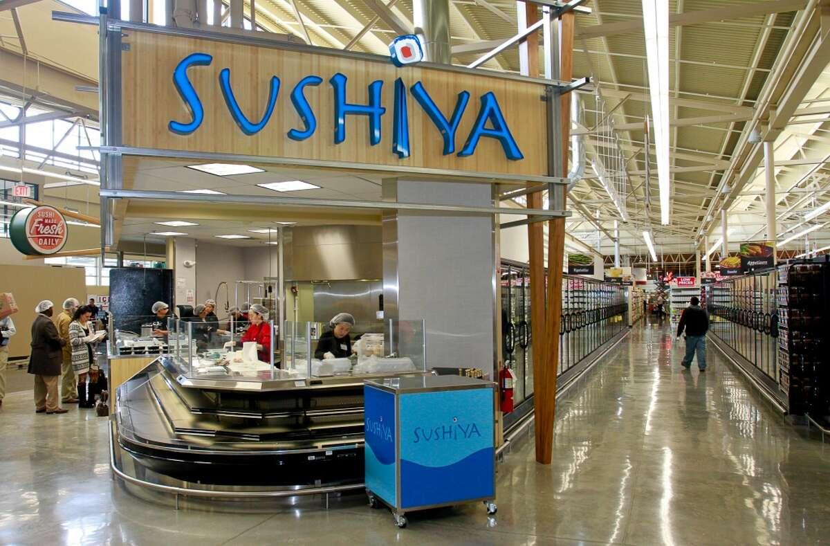 Sushiya Fresh sushi is handmade in-store daily