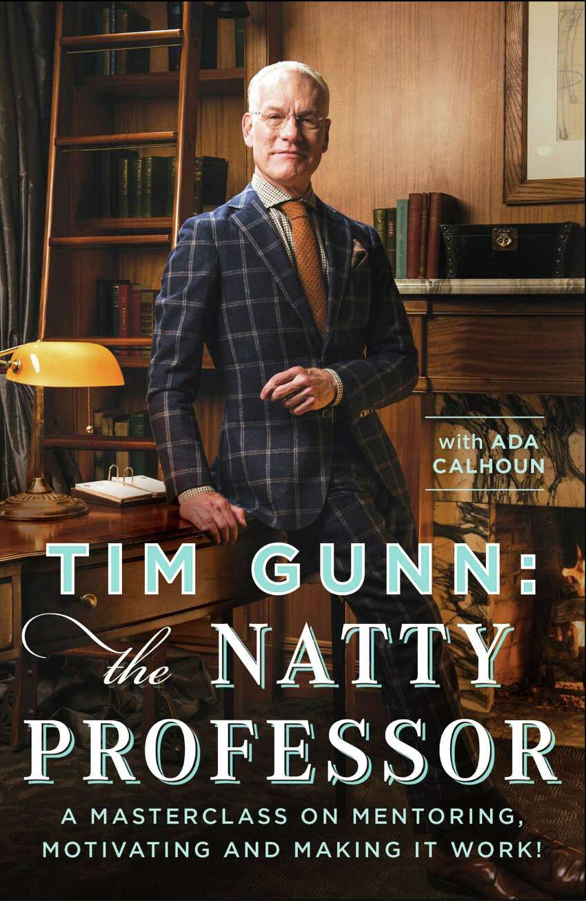 Here's the cover of Tim Gunn's newest book,