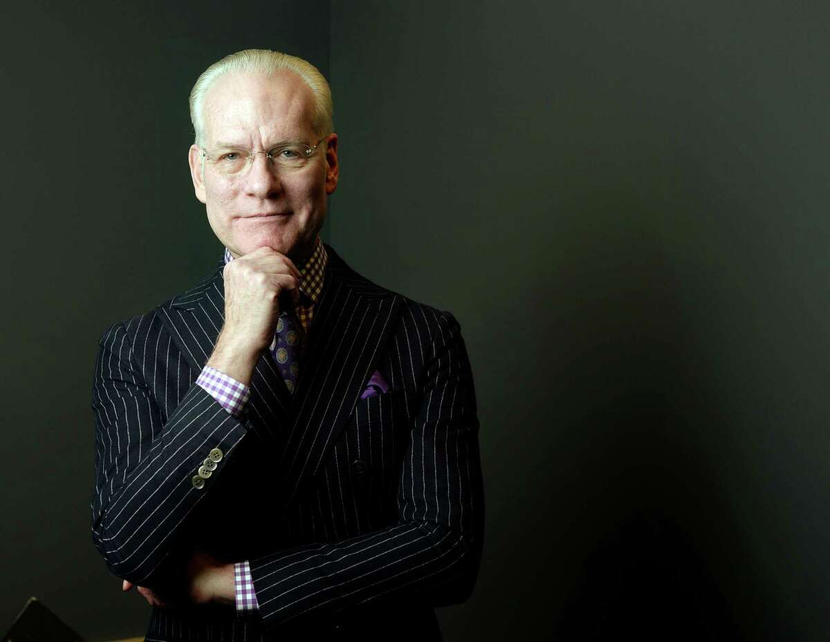 Tim Gunn at the 4th annual Goodwill Fashion Show at the Exdo Event Center in Denver on Feb. 6, 2014.