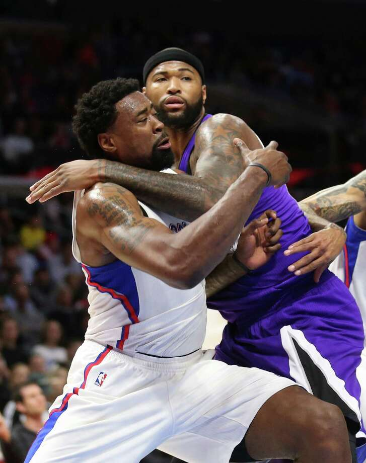 LOS ANGELES, CA - FEBRUARY 21:  DeMarcus Cousins #15 of the Sacramento Kings and DeAndre Jordan #6 of the Los Angeles Clippers battle for rebounding position at Staples Center on February 21, 2015 in Los Angeles, California.  NOTE TO USER: User expressly acknowledges and agrees that, by downloading and or using this photograph, User is consenting to the terms and conditions of the Getty Images License Agreement.  (Photo by Stephen Dunn/Getty Images) ORG XMIT: 508086509 Photo: Stephen Dunn / 2015 Getty Images