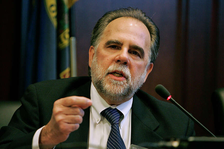 """Can this same procedure then be done in a pregnancy? Swallowing a camera and helping the doctor determine what the situation is?"" -Vito Barbieri, Republican representative from Idaho, asking if a swallowed camera ends up in the vagina on Monday. Source: Chron.com Photo: Matt Cilley, FRE / FR117486 AP"