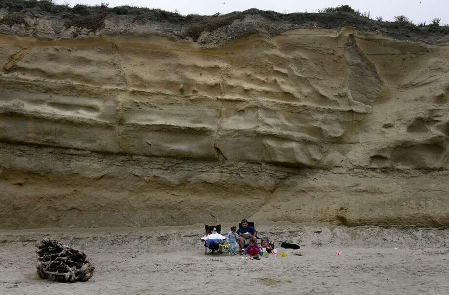 Pomponio State Beach, near San Gregorio. Photo: Brant Ward, SFC