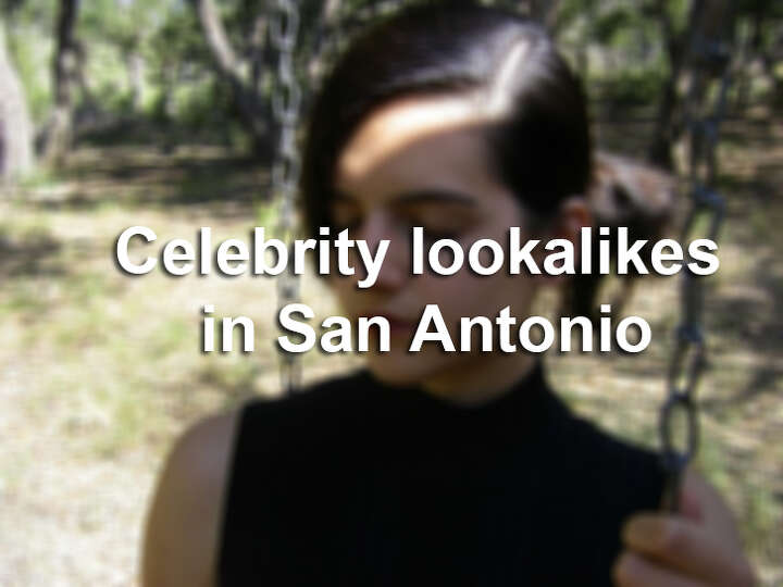 Celebrity lookalikes in San Antonio