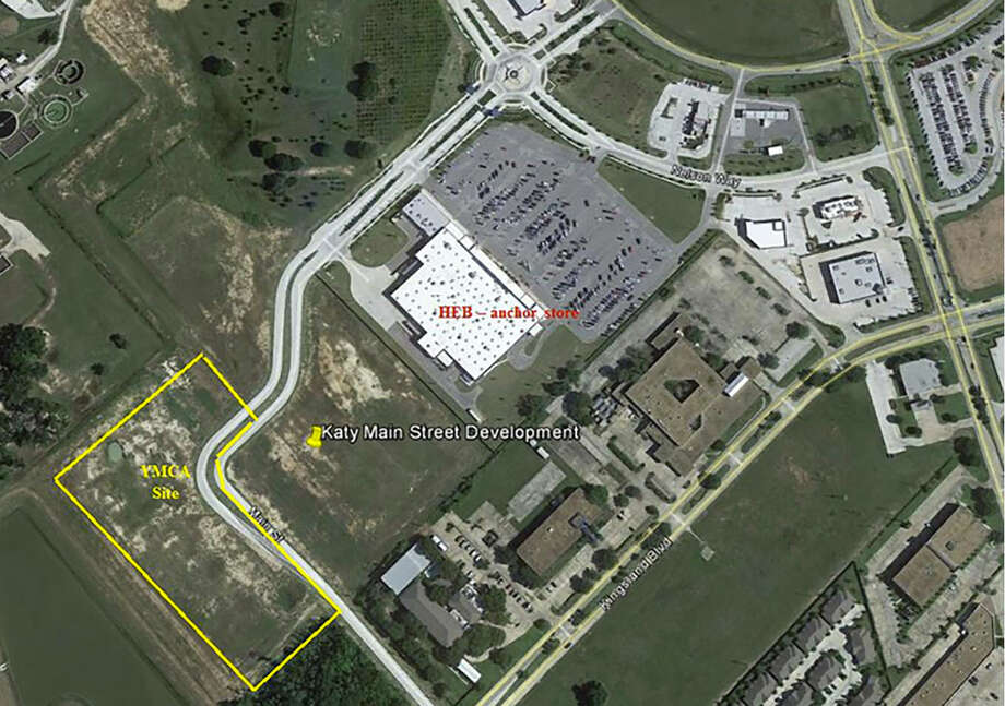 The YMCA site in Katy Main Street will be west of Pin Oak Road and Interstate 10 on Main Street near Kingsland Boulevard. The YMCA site in Katy Main Street will be west of Pin Oak Road and Interstate 10 on Main Street near Kingsland Boulevard. Photo: YMCA Of Greater Houston