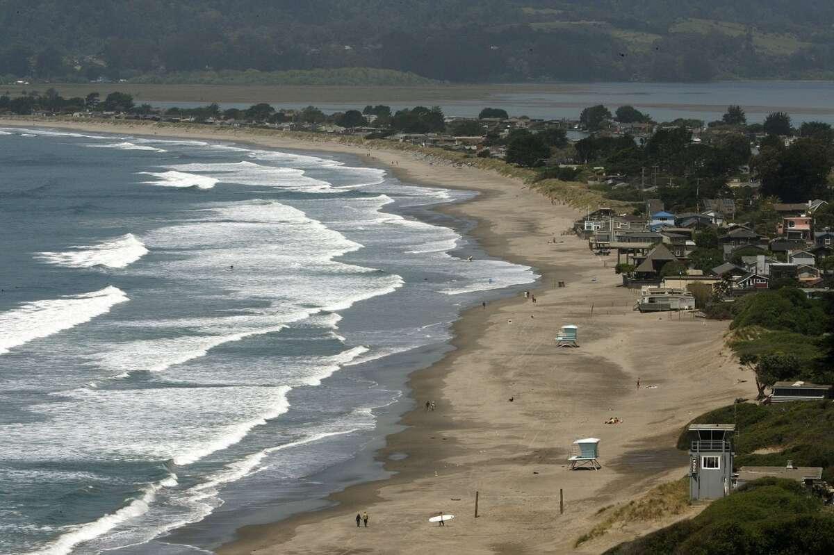 Marin: 90,000 (Stinson Beach, near Bolinas)