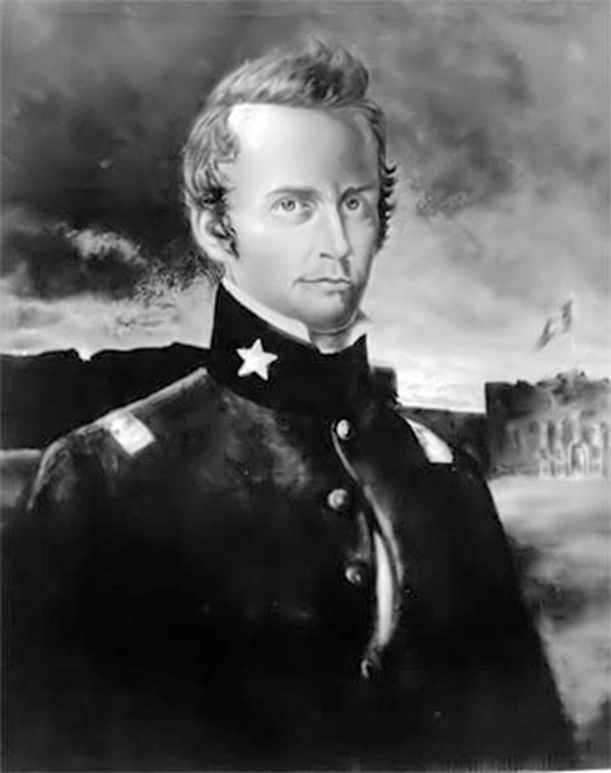 Lt. Col. William B. Travis was the commander at the Alamo during the 1836 siege.