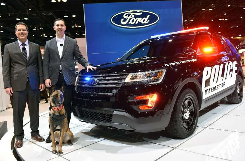 Ford Claims A 55 Percent Share Of The Police Car Market