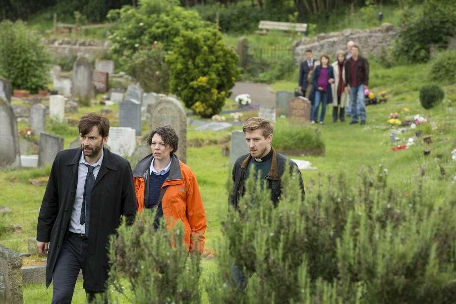 "David Tennant plays a police detective in ""Broadchurch."" Photo: ITV/Kudos, ITV/kudos"