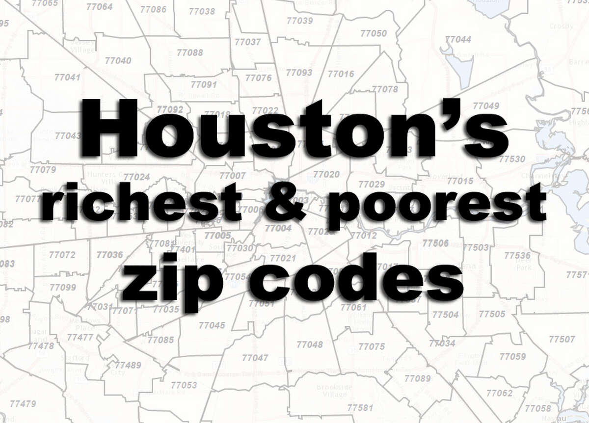 See where Houston's wealthiest and poorest residents live.
