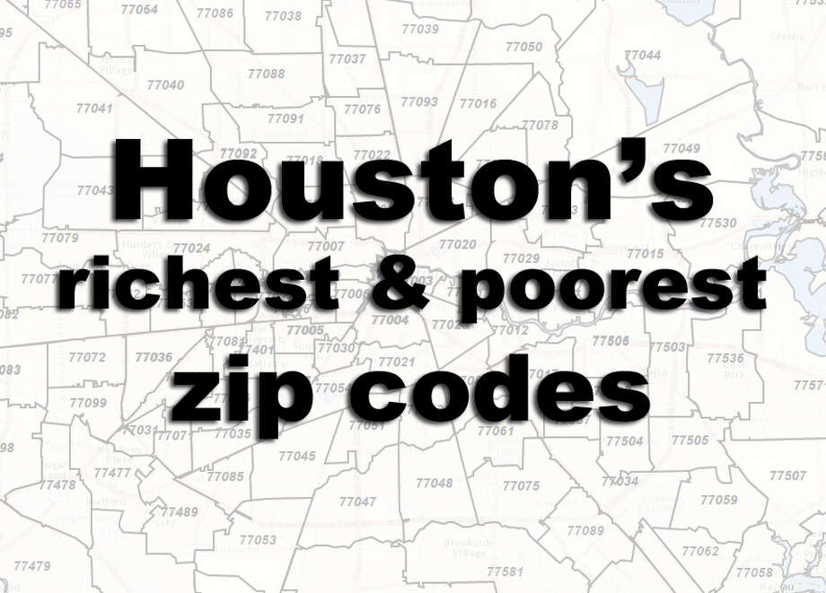 See where Houston's wealthiest and poorest residents live. First, the Top 15 richest, then the Top 15 poorest.  Photo: Esri