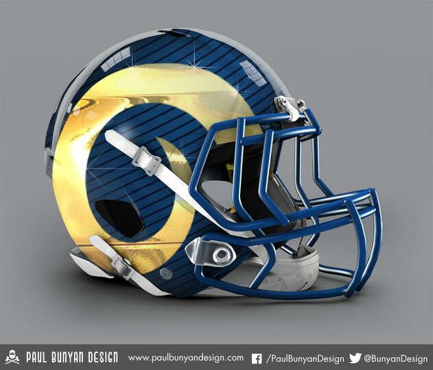 St Louis Rams Concept Helmet By Paul Bunyan Design Photo