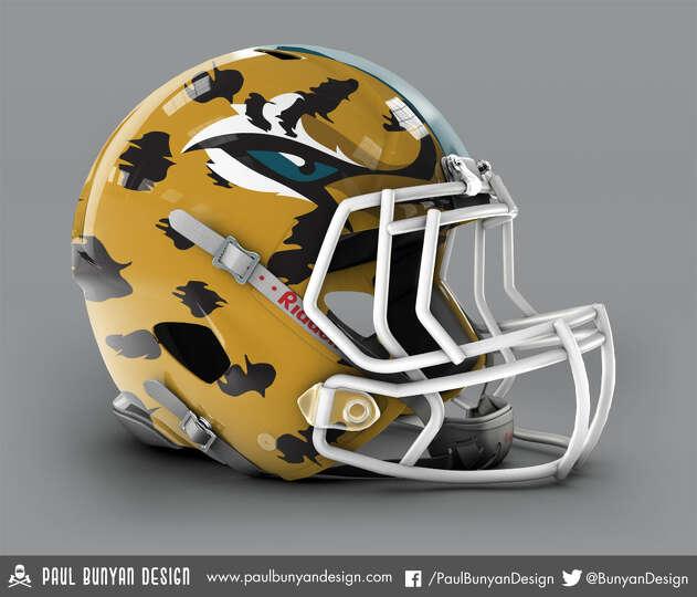 jacksonville jaguars concept helmet by paul bunyan design photo. Cars Review. Best American Auto & Cars Review