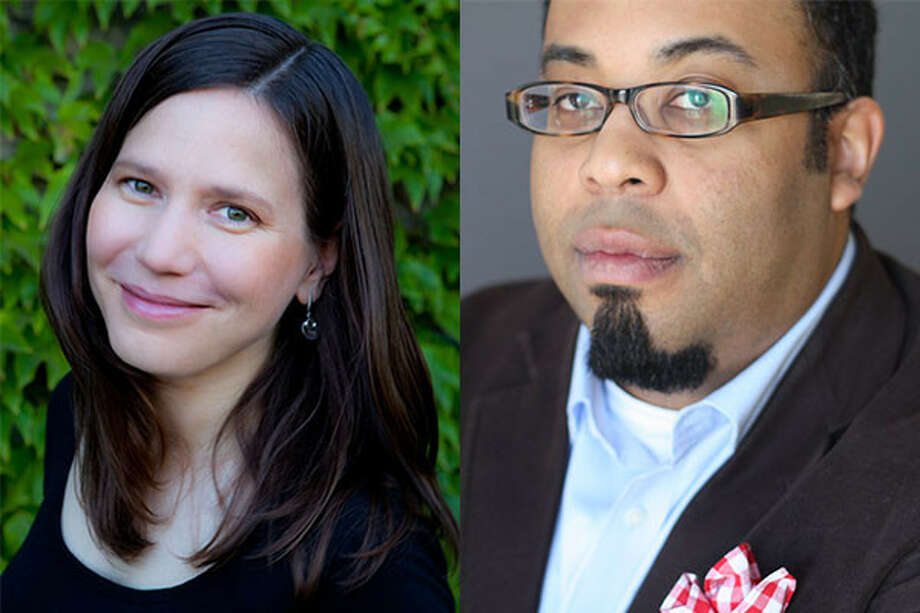 Poets Mary Szybist and Kevin Young.