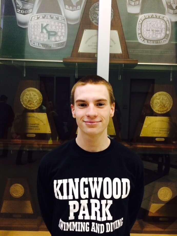 Kingwood Park sophomore Ryan Logan helped lead the Panthers to the Class 5A swimming and diving team championship, earning two bronze medals and a gold in the 200-yard medley relay