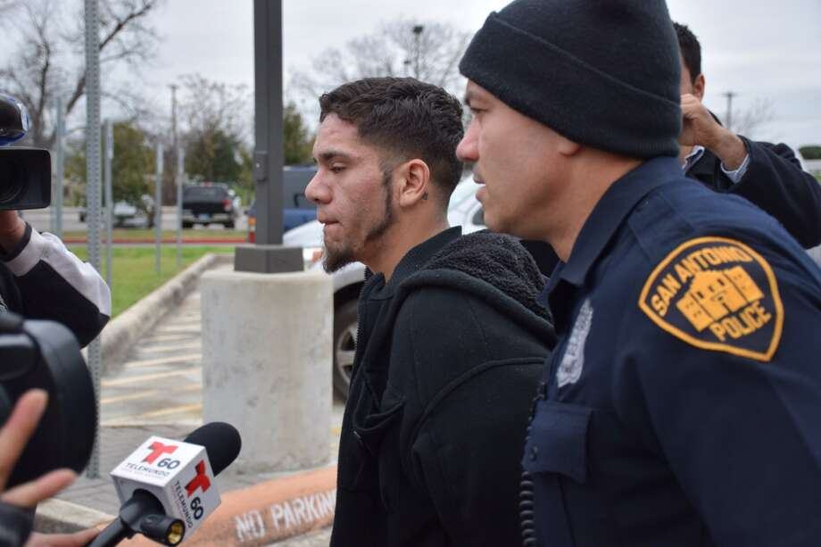 Steven Martinez, 25, is accused of shooting a man during a home invasion on the Southeast Side Sunday night. Photo: Mark D. Wilson/San Antonio Express-News