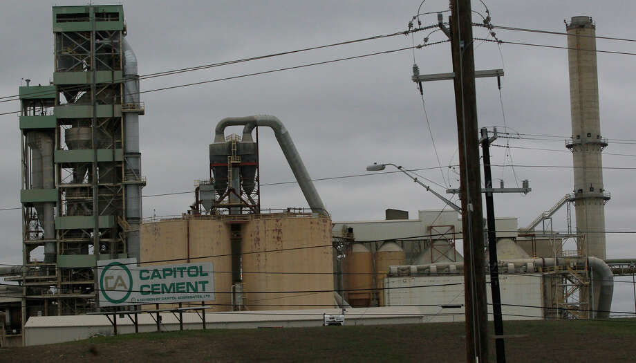 This is the Capitol Cement plant on the 11,500 block of Nacogdoches road Tuesday February 24, 2015 after there were reports of an explosion there. Photo: John Davenport, San Antonio Express-News / ©San Antonio Express-News/John Davenport