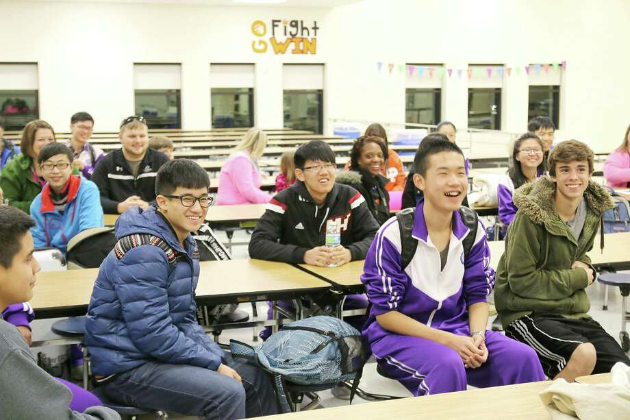 Chinese students immersed in life in la porte beaumont for Laporte schools employment