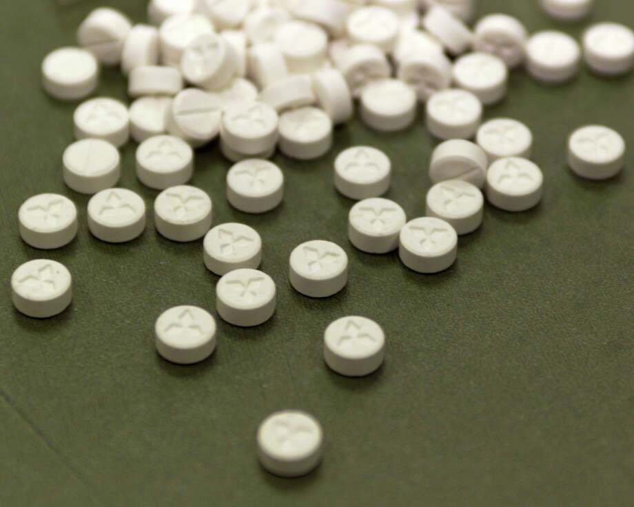"A bag of the drug Ecstasy. The drug is a stimulant psychoactive drug also known as methylone or ""Molly."" Several Wesleyan students were hospitalized after overdosing on the drug over the weekend. Photo: Contributed Photo, Courtesy Of U.S. Customs/Newsmak / Connecticut Post Contributed courtesy of U.S. Customs/Newsmaker"