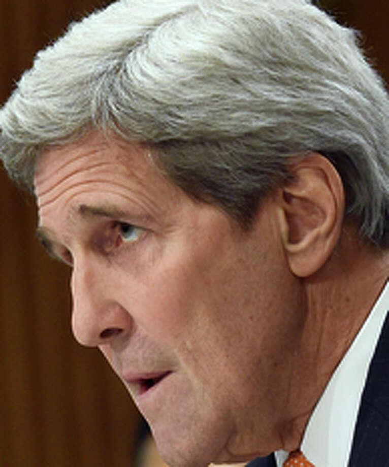 Secretary of State John Kerry testifies before a Senate committee. Photo: Susan Walsh / Associated Press / AP