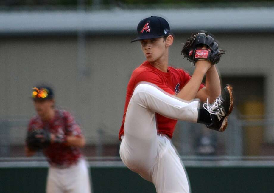 Atascocita senior pitcher Andrew Guillory is among the key players back for the Eagles this season. Photo: Jerry Baker, Freelance
