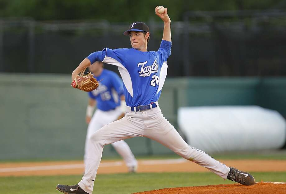 Katy Taylor pitcher Tanner Knowles is a key returnee for the Mustangs this season. Photo: Diana L. Porter, Freelance / © Diana L. Porter