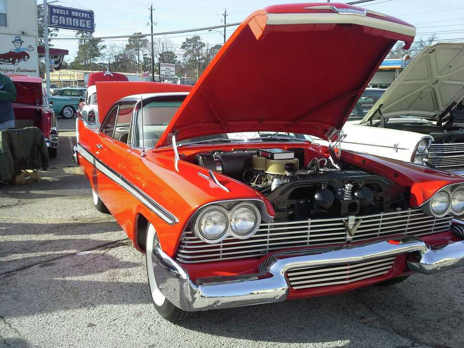 Vintage automobiles such as a 1958 Plymouth Fury, above, and a 1953 Studebaker, below, will cruise Heights Boulevard during the fifth annual Oldie and Goodie Classic Car Show Feb. 28 sponsored by Adolf Hoepfl and Son Garage, 4610 N. Shepherd Drive. Photo: Allen Jones