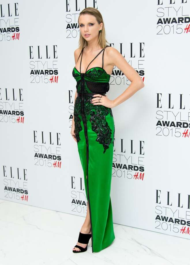 Taylor Swift attends the Elle Style Awards 2015 at Sky Garden @ The Walkie Talkie Tower on February 24, 2015 in London, England.  (Photo by Ian Gavan/Getty Images) Photo: Ian Gavan, Getty Images