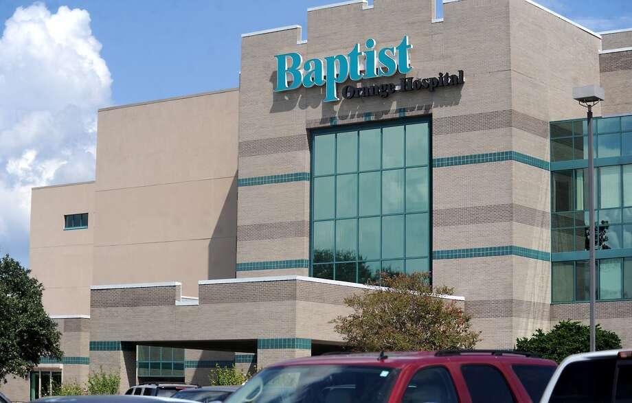 Baptist Orange Hospital.  Enterprise file photo Photo: TAMMY MCKINLEY / Beaumont