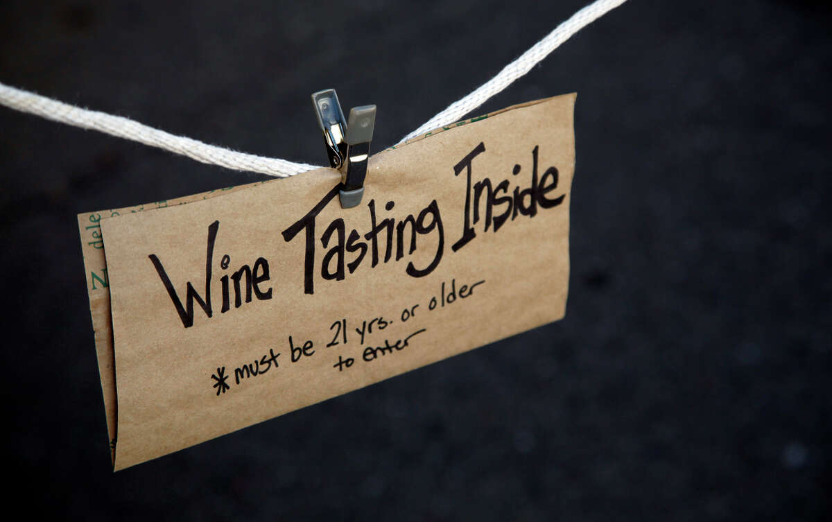 Heringer Estates Winery has its own mini tasting room at the Pleasanton Farmers' Market for those 21 and over.