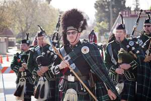 Dublin in Alameda County goes all out for St. Patrick's Day and holds a parade sponsored by the Lions Club.