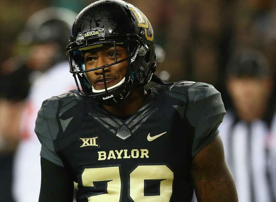 Safety Orion Stewart says winning a third straight Big 12 title is not the No. 1 goal for Baylor, which began spring drills Tuesday. Photo: Ronald Martinez /Getty Images / 2014 Getty Images