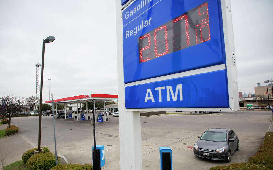 Area gasoline prices are averaging more than $2 a gallon again after diving below that mark last year. Photo: Cody Duty, Staff / © 2014 Houston Chronicle