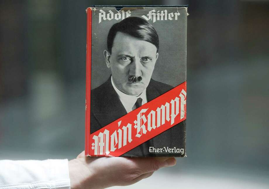 "The first new print run of ""Mein Kampf"" since Hitler's death is due out early next year. Photo: Lennart Preiss /Associated Press / dapd"