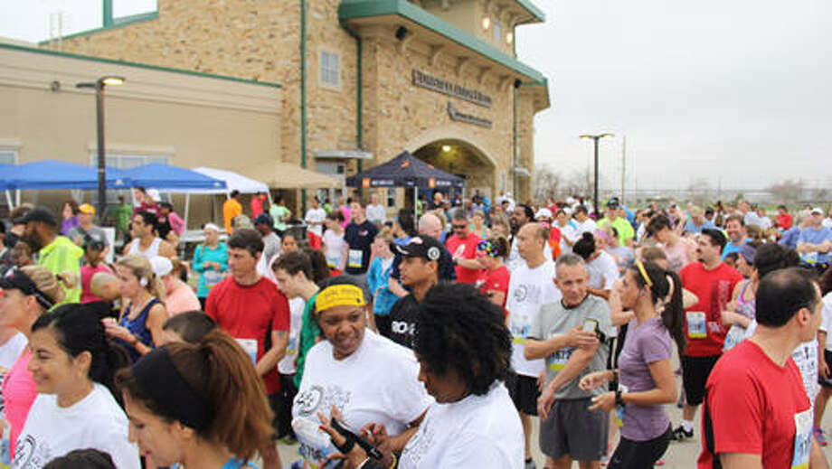 The fifth annual Darling Dash from As One Foundation attracted a crowd of approximately 300 to Constellation Field (Skeeters Stadium) in Sugar Land on  Feb. 22 to raise sickle cell awareness. Photo: As One Foundation