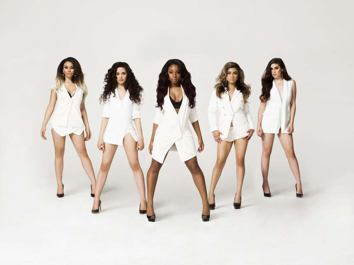 Girl group Fifth Harmony features Normani Kordei, center, from Pearland.