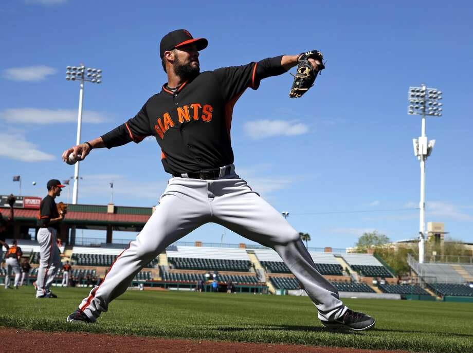 San Francisco Giants' Ryan Vogelsong during Spring Training in Scottsdale, Arizona, on Tuesday, February 24, 2015. Photo: The Chronicle