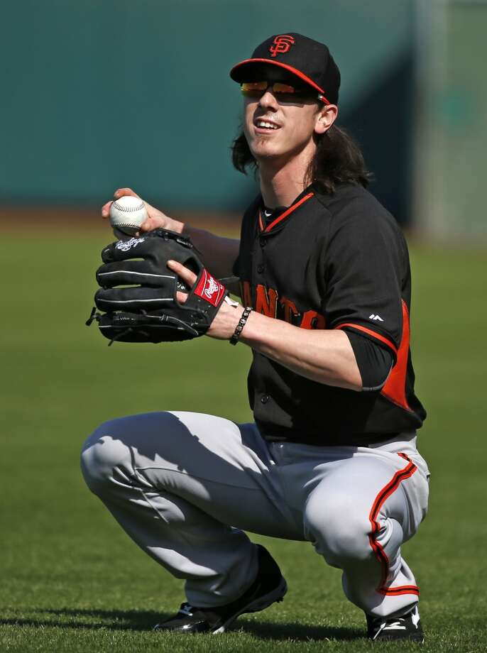 San Francisco Giants' Tim Lincecum during Spring Training in Scottsdale, Arizona, on Tuesday, February 24, 2015. Photo: The Chronicle