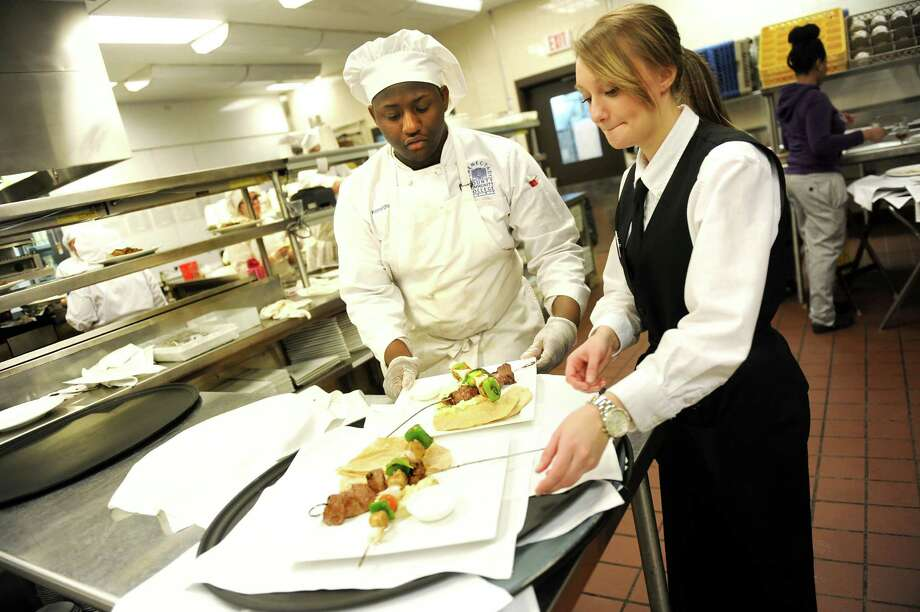 Schenectady College Offers Culinary Training Ground Times Union Extraordinary Casola Dining Room