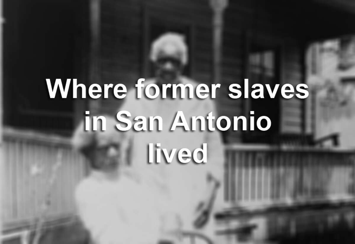 The U.S. Works Progress Administration lists seven addresses for former slaves that lived in San Antonio during the late 1930s. Scroll through to see the faces of those who suffered under the institution of slavery - what their former properties look like today.